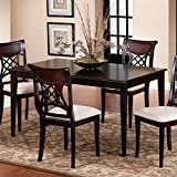 Hillsdale Bayberry Rectangle Dining Table – Dark For Sale