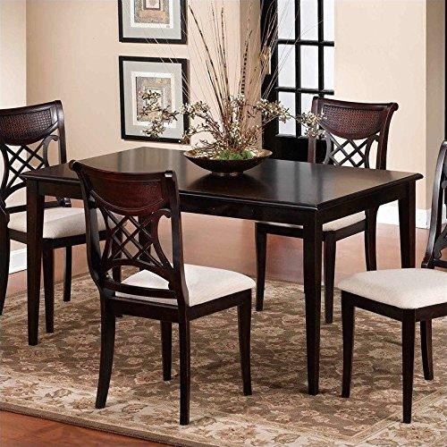 Hillsdale Furniture Rectangular Dining Table in Dark Cherry Finish