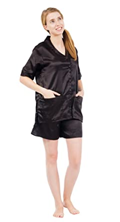 Up2date Fashion Women s Satin Short Pajama Set (Small a95249495