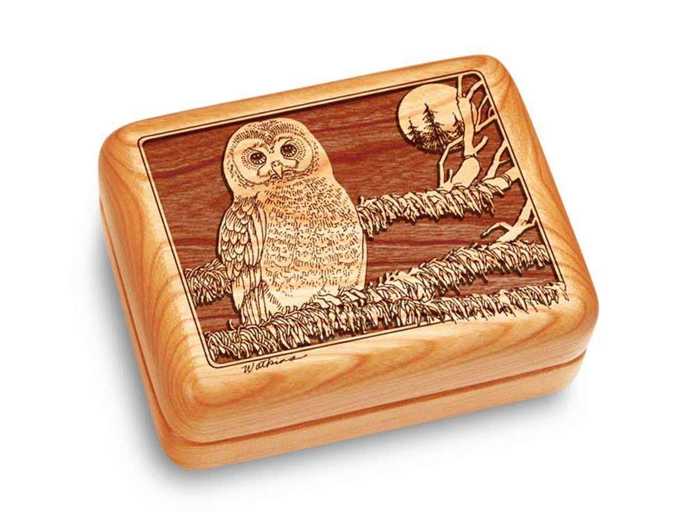 【レビューを書けば送料当店負担】 音楽ボックス4 Owl x 3