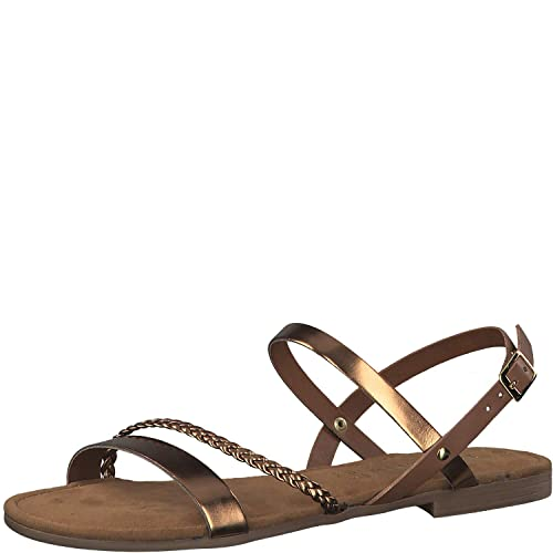 Tamaris 1 1 28183 38 Damen Sandale, Sandalette, Riemchen Sandale, Sommerschuh für die modebewusste Frau