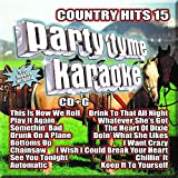 Party Tyme Karaoke - Country Hits 15 [16-song CD+G]