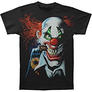Clown Cut Horror T Shirt Adult Unisex The Mountain