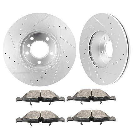 Amazon com: OCPTY Brakes and Rotors Set with 2 Front Brake