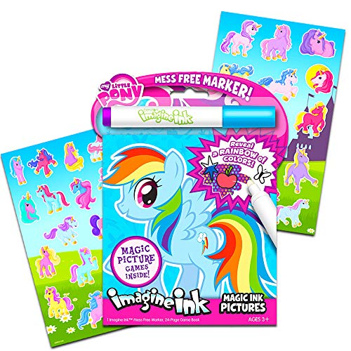 My Little Pony Imagine Ink Book Set (Includes Mess Free Marker and -