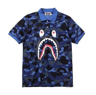 8ff7f78b Amazon.com: DuoLu Casual Fashion Bape Camo Printed T Shirt for Women ...