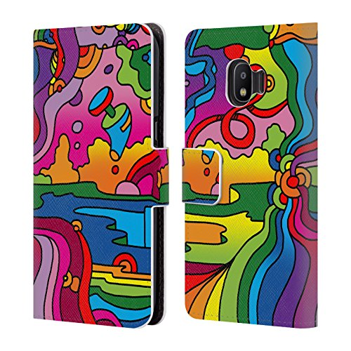 Mambo Wallet (Official Howie Green Pop Art Mambo 216C Landscape Leather Book Wallet Case Cover For Samsung Galaxy J2 Pro (2018))