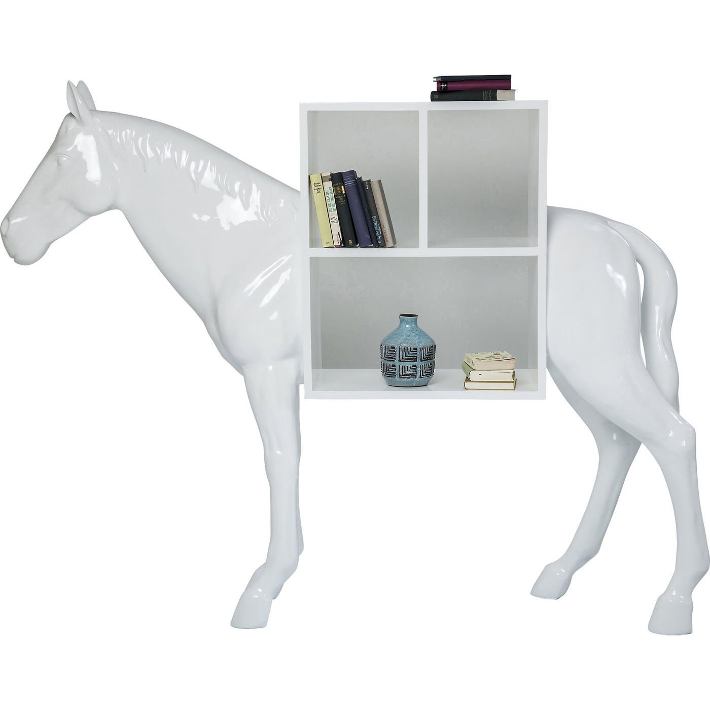 Regal Horse White