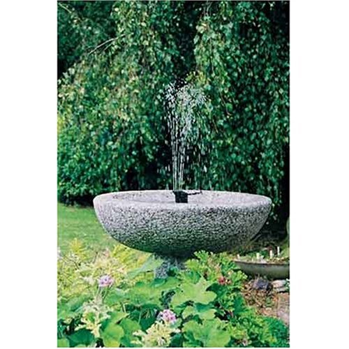 Amazoncom Instapark 5 Head Solar Pump Garden Fountain Pond