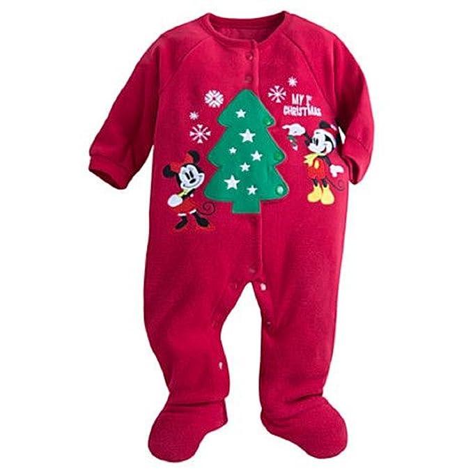 55326e9506b1 Amazon.com  Disney Store Mickey and Minnie Mouse My 1st Christmas ...