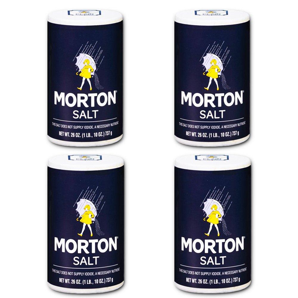 Morton Salt Regular Salt, 26 Oz (4 Pack) : Grocery & Gourmet Food