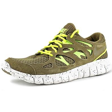 Nike Free Run 2+ EXT braun weiß (555174 337) Gr. 42,5