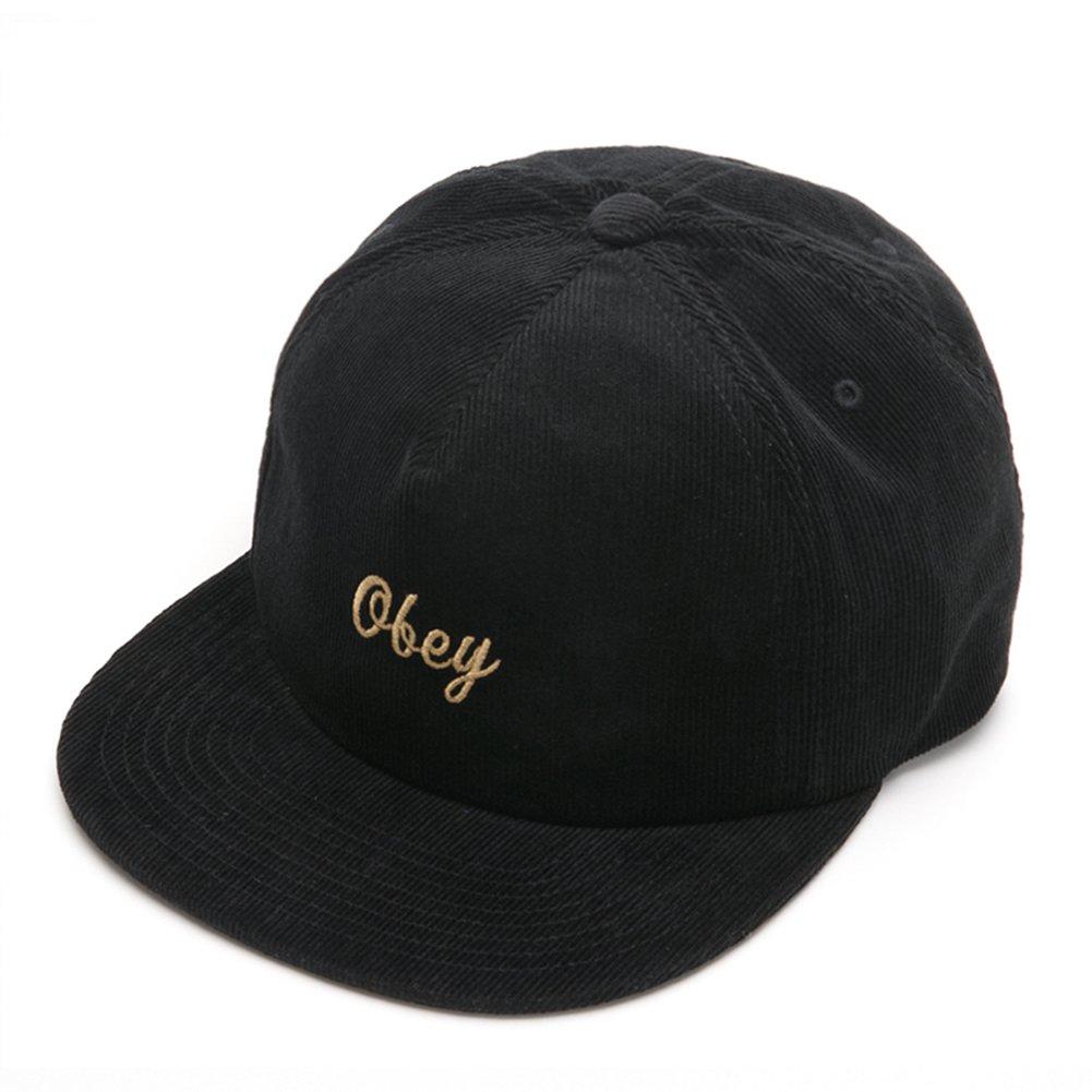 Obey - Gorra de béisbol - para hombre Negro Negro Talla única: Amazon.es: Ropa y accesorios