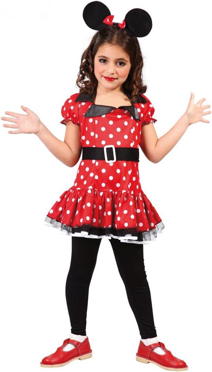 Guirca paolian Minnie topolina topina, Color Rojo, 7 – 9 años ...