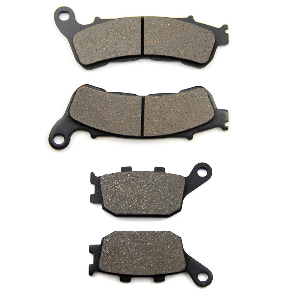 /  Rear Brake Pads for Honda CBF 500 A4//A5//A6//A7 2004-2007 ABS Model SOMMET Motorcycle Front
