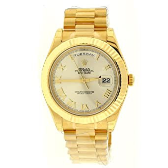 Amazoncom New Rolex Day Date Ii President 18k Yellow Gold