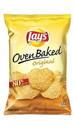 Horno Baked Lay de chips, 1.125 oz bolsas (Pack de 48 ...