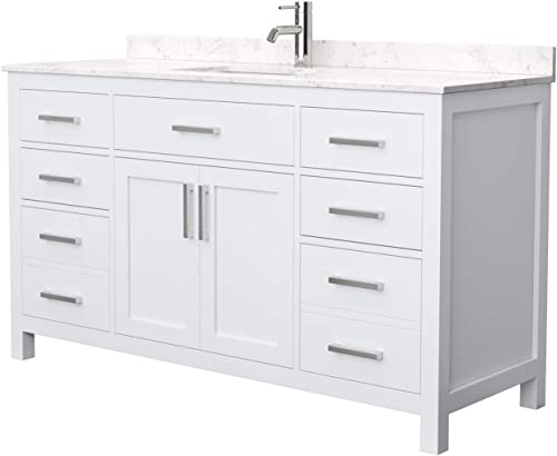 Beckett 60 Inch Single Bathroom Vanity