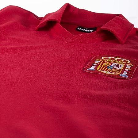 Copa Football - Camiseta Retro España años 1980 (XL): Amazon.es: Deportes y aire libre