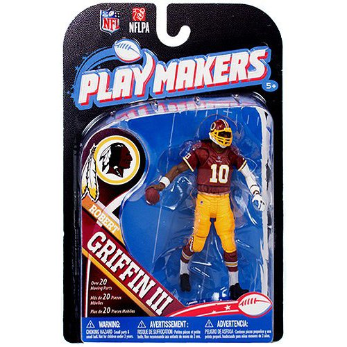 NFL Redskins de Washington 2013 Le meneur de jeu de la série 4 Robert Griffin III Figurine