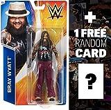 Bray Wyatt: WWE Basic Series #55 + 1 FREE Official WWE Trading Card Bundle