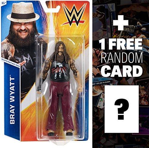 Bray Wyatt: WWE Basic Series #55 + 1 FREE Official WWE Trading Card Bundle by WWE