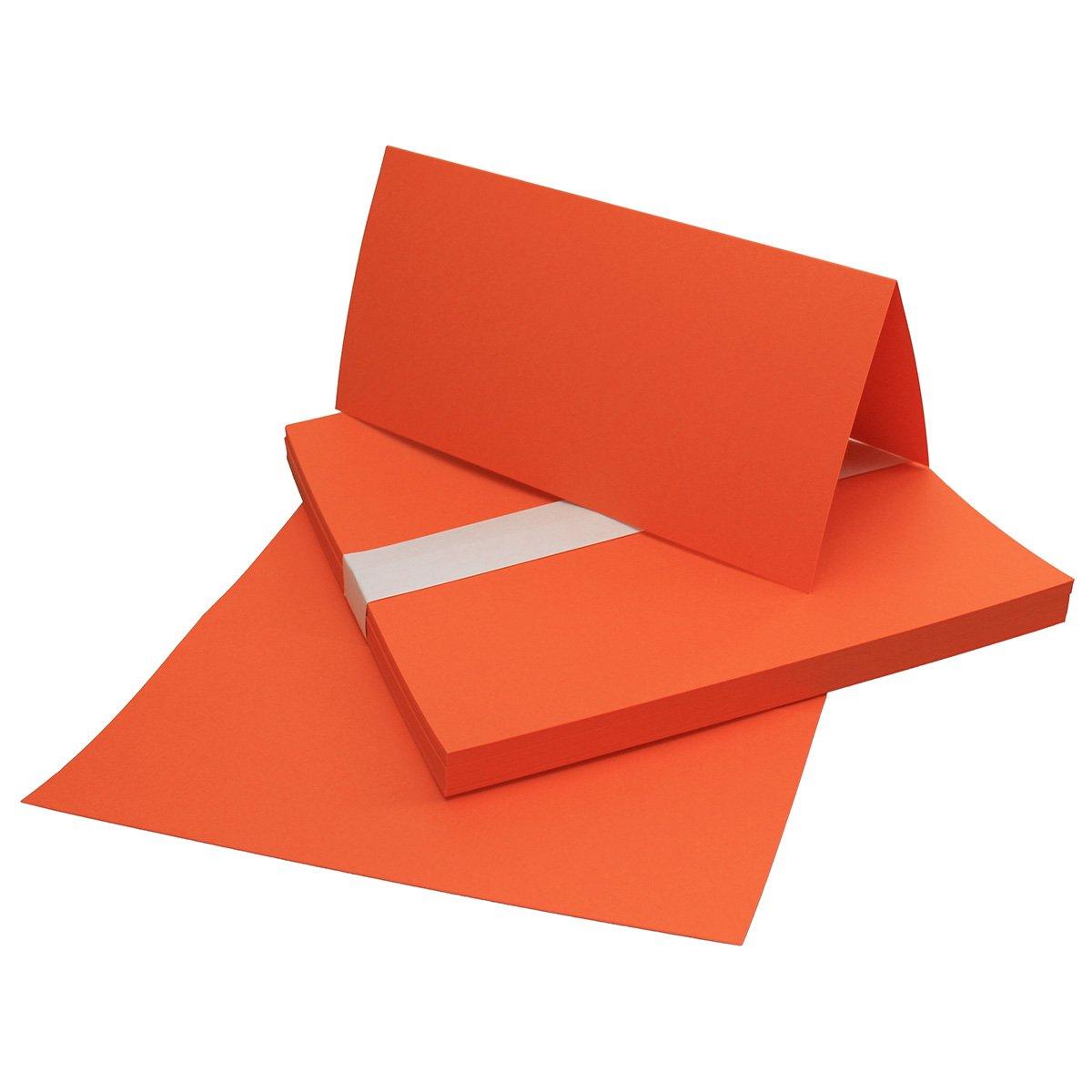 Faltkarten Din Lang   Schwarz   500 Stück   Premium Qualität - 10,5 x 21 cm - Sehr formstabil -Ideal für Grußkarten und Einladungen - Qualitätsmarke  NEUSER FarbenFroh B07FKTCGKP | Verpackungsvielfalt