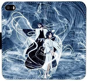 Caja del cuero de la muchacha del muchacho del kimono Espada Espacial V2J2T Funda iPhone 4 4S Funda 7i340F personalizados funda Caso modificado para requisitos particulares del teléfono celular del tirón