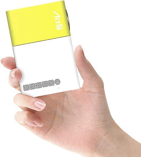 Mini Proyector Portátil Móvil- Artlii Mobile Projector LED ...
