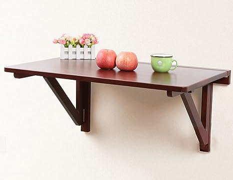 Table de repas pliante en bois massif bureau de bureau pour