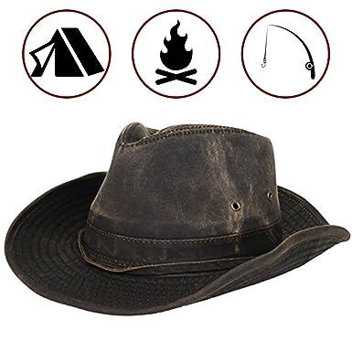 Dorfman Pacific Men s Outback Hat with Chin Cord at Amazon Men s ... b695c6fa30b2