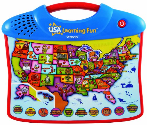 Amazon VTech USA Explore and Learn Map Toys Games – Map Usa Games for Kids