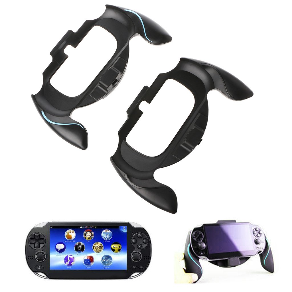 GROOMY Joypad Bracket Holder Handle Hand Grip Case para Psvita PS Vita PSV 1000 Gamepad - Azul