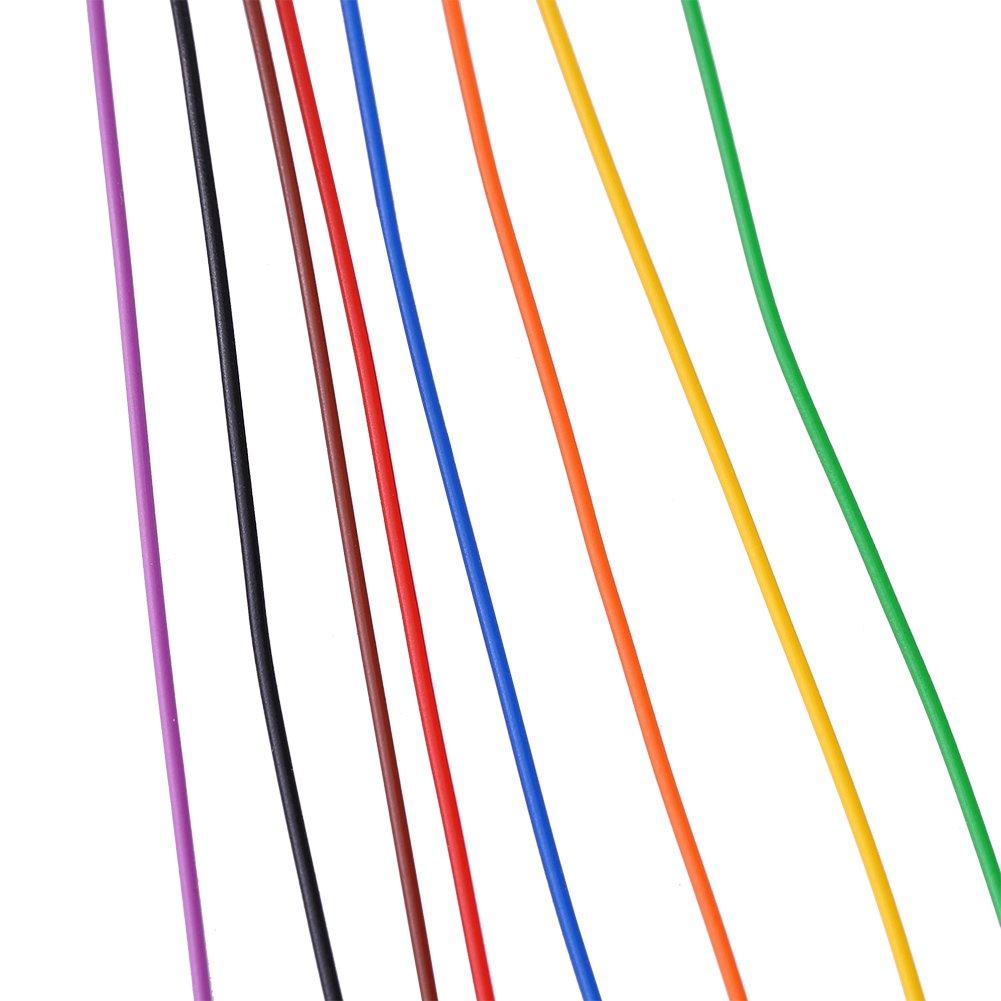 P-N B-30-1000 280M Cavo colorato in rame a 8 fili con avvolgimento di isolamento a 30 fili AWG