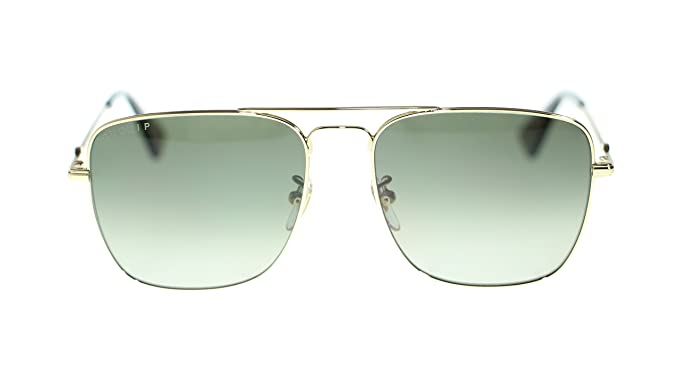 1bc2c9df6b6 Image Unavailable. Image not available for. Colour  Gucci Men Square  Sunglasses GG0108S 006 Gold Brown ...