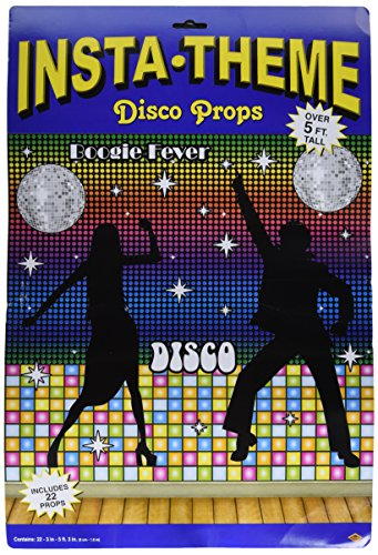 Costumes 1970s Theme (Disco Props Party Accessory (1 count) (22/Pkg))