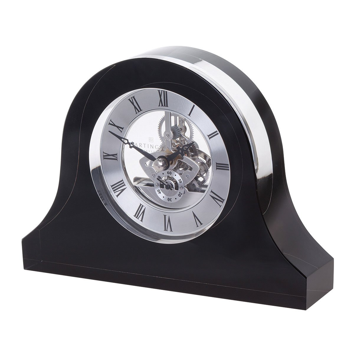 Dartington Crystal Mantle Clock, Clear GW3058