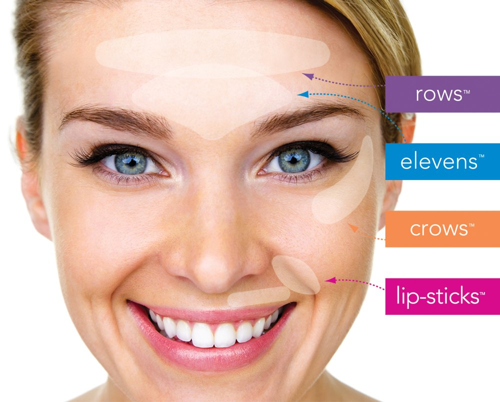 Amazon Furlesse Elevens Anti Aging Patches For Frown Line
