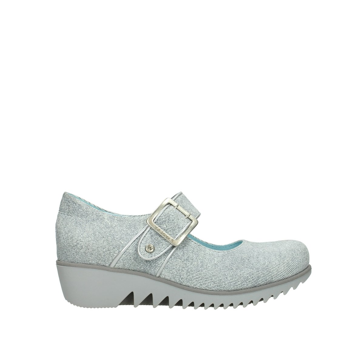 Wolky Comfort Mary Janes Silky B079MBHY4Y 40 M EU|49122 Offwhite-grey