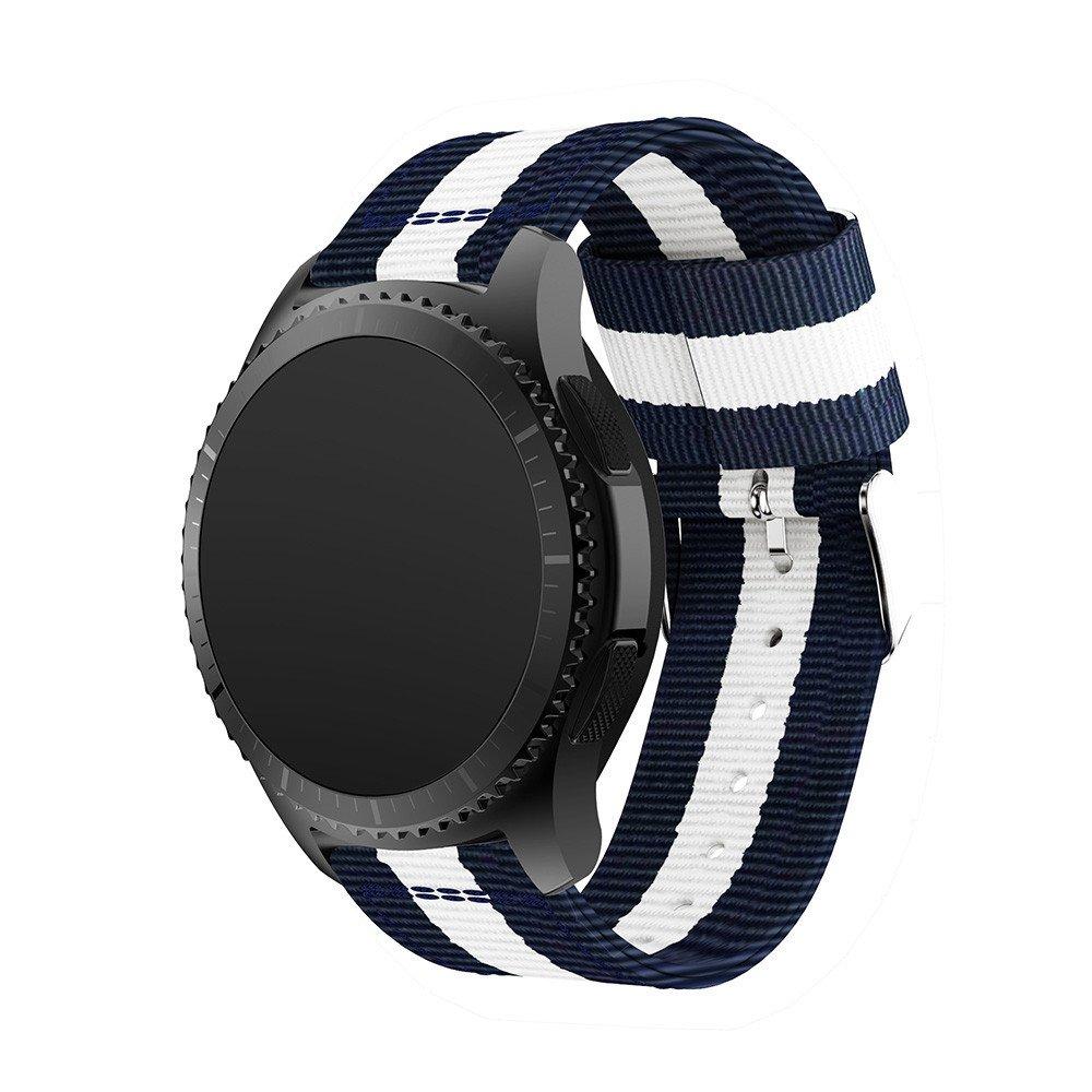 Correa de Relojes Cómoda y Durable, YpingLonk Nylon Tejido Fino para Samsung Gear S3 Watch Accesorios Repuestos De Brazalete Cómoda y Durable Casual Clásico ...