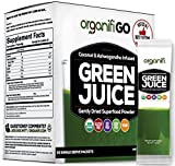 Organifi GO Packs – Green Juice Super Food Supplement 30 Individual Wrapped Portable Travel-Friendly Packs. USDA Organic Vegan Greens Powder by Organifi Review