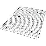 USA Pan Half Sheet Bakeable Nonstick Cooling Rack, Pan, Stainless
