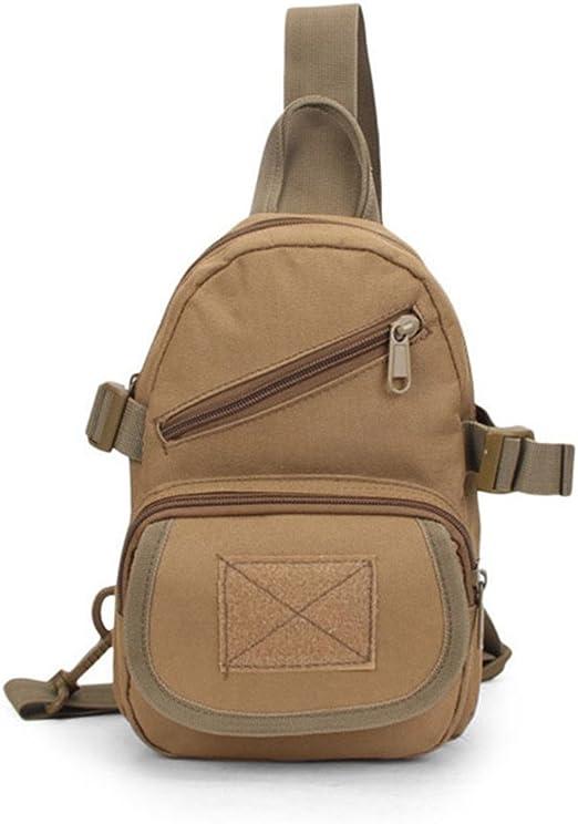 Wenzhihua Bolsa de Pecho para Hombre y Mujer Sling Chest Pack Bag Bandolera Crossbody Mochilas para Caza Camping Trekking Sling Bag Mochila Crossbody Impermeable: Amazon.es: Hogar