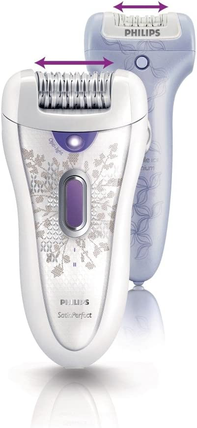 Philips HP6574/10 - Depiladora SatinPerfect con pinzas cerámicas ...