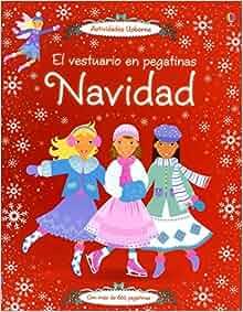 Navidad. El vestuario en pegatinas: Catriona/Pratt, Leonie Clarke