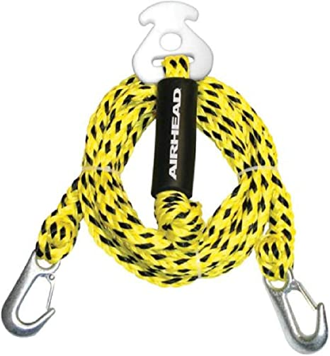 amazon.com : airhead watersports heavy duty tow harness | 4 rider - 16  feet, yellow and black, 192 inches : waterskiing ropes and handles : sports  & outdoors  amazon.com
