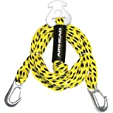 Airhead Watersports Heavy Duty Tow Harness   4 Rider - 16 Feet, Yellow and Black, 192 inches