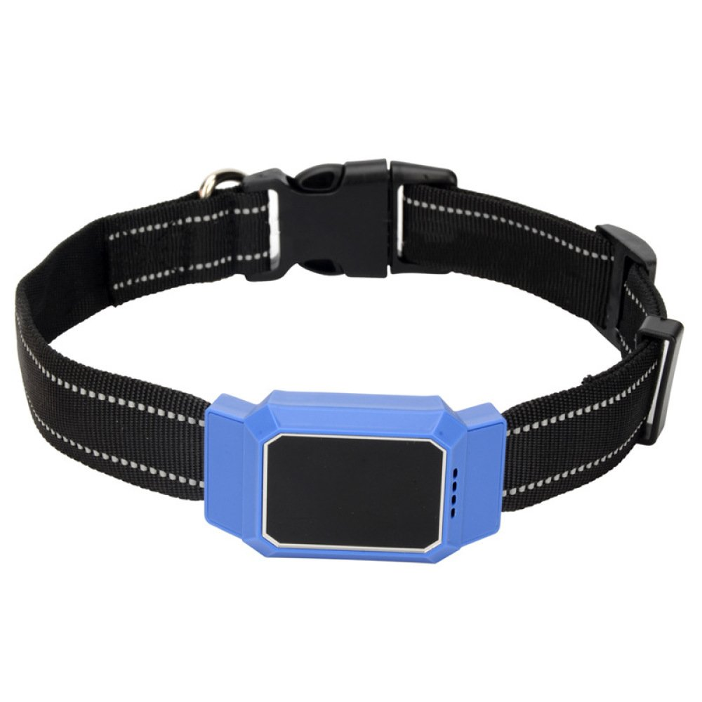 bluee Feng Pet Intelligent Locator Anti Lost GPS Collar Tracking Device,bluee