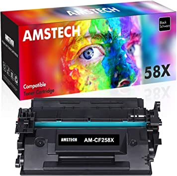 Amstech - Cartucho de tóner Compatible HP 58X CF258X para ...