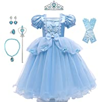 Yalla Baby Girls Dress Costume for Kids Girls Princess Dress Up with Free Accessories - 90-140 cm 3-12 Years Birthday…